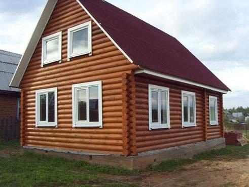 Частный панельный дом